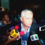 Otto Pérez al salir de la audiencia insiste en que sus propiedades son legítimas #CooptaciónEstadoGT #GálvezDecide https://t.co/SB2PPy1gRK