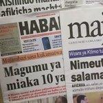 Magazeti ya #TZ#July272016 tayari nimeshayaweka kwenye https://t.co/G3BpafI2ae, kuanzia #UDAKU #MICHEZO  #Hardnews https://t.co/zP5lRZBEyQ