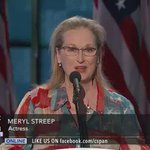 "Meryl Streep on ""grit & grace"" at the #DemConvention #DemsInPhilly https://t.co/3VtZA5Gwvl"