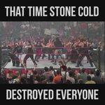 Stone Cold Steve Austin was an animal 😂 https://t.co/AXcTLupJZZ