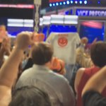 Virginia delegation cheers as Sen. Tim Kaine is nominated for VP. #wtop #DemsInPhilly https://t.co/BbE8w8mDy6