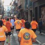 Hoy no había toros por el centro de Pamplona. Hoy todos de naranja ;) #BeerRunners @BeerRunnersPamp @Cervecear https://t.co/5SMzUvGgbL