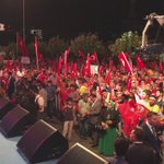 Burası milletin meydanı... Şerefli nöbete devam #Ankara... #MeydanlarMilleteEmanet https://t.co/eF0eHv4xLe