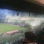 Hoje | Recebimento fodastico da torcida do Atlético Nacional #Libertadores https://t.co/GF0CrCbqlL