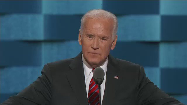 """LIVE BLOG: @JoeBiden says Clinton win will change girls' lives: https://t.co/SNDx41TGOP Oh, and he used """"malarky."""" https://t.co/TG3Zrw3WIX"""