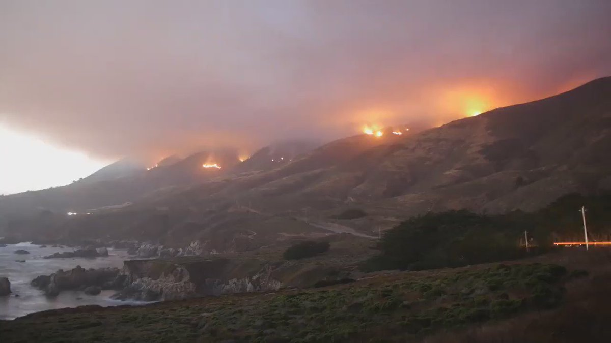 #SoberanesFire [update] near Big Sur (Monterey County) is now 23,688 acres & 10% contained. https://t.co/FJ5RyubWl6 https://t.co/hTY77MSSXc