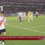 Con goles de Mercado y Pezzella, River Plate se coronaba campeón de la Copa Sudamericana ( Sonido ambiente). https://t.co/CqSO0WDvZY