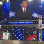 """""""Democracy doesnt work if we constantly demonize each other."""" -President Obama #DemsInPhilly https://t.co/i63Lbz1suA"""