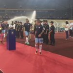Warm ups done! Its almost time in Shenzhen! #cityontour #mcfc https://t.co/qepvDs0UNZ