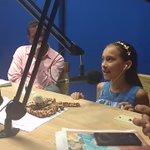 La pequeña cantante Karen Lemus que nos visitó en la mañana de hoy. https://t.co/TNaDQBE7Ak
