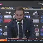 """VIDEO - Higuain: """"Napoli? Grazie ai tifosi, a Sarri e ai miei compagni, De Laurentiis? Non volevo stare più con lui"""" https://t.co/tXfLh410PQ"""