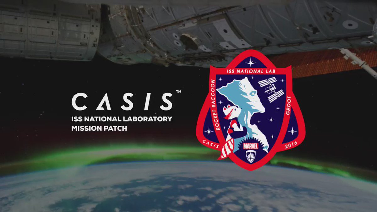 Our new mission patch combines creativity of @Marvel w/ innovation of @Space_Station! https://t.co/G9ZgamWWjQ https://t.co/2iL2T0vZQA