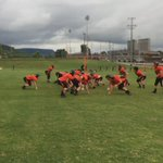 Practice makes perfect. Coach Grider and the #Pirates get to work, more at 11 #PiratePride @SPHSPirates1 #FNF3 https://t.co/XlBSQLcAOa