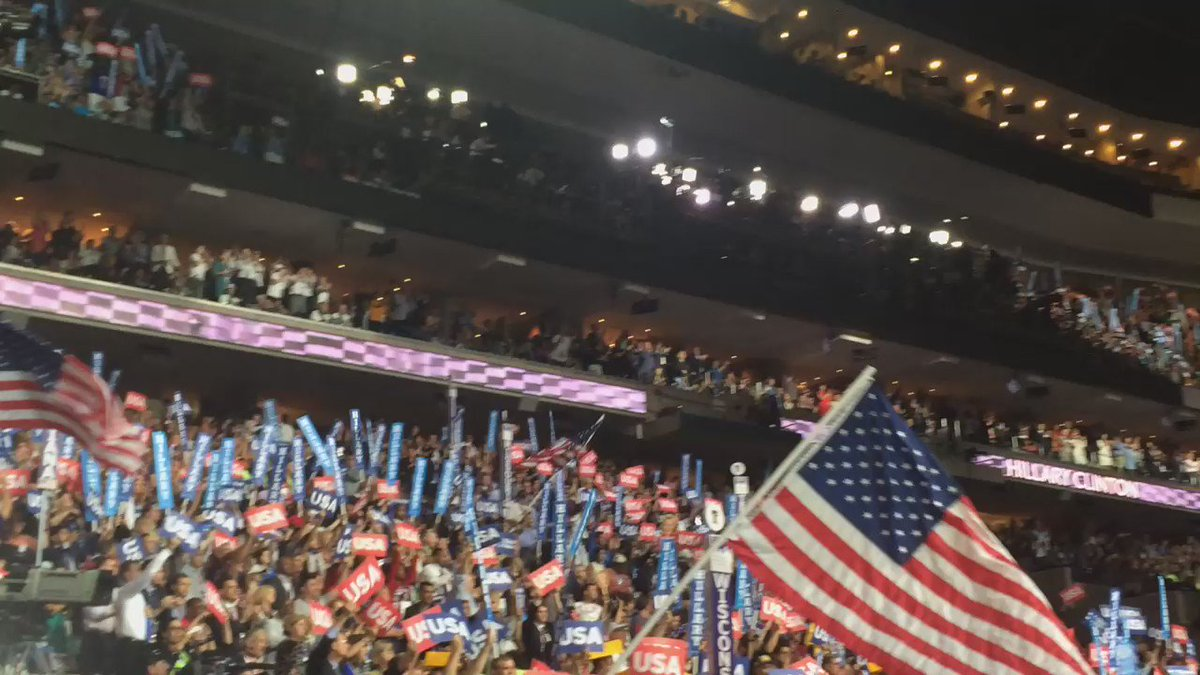 """""""@HillaryClinton will be ready on day one to defend those who defend you."""" #DemsInPhilly #USA https://t.co/Ivdl95GD5G"""