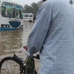 Hero Honda chowk, towards Jaipur, of #Gurgaon this morning after Thursday rains, sky still not clear @HTGurgaon https://t.co/8ByQPtJKu7