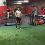 """Explosive Power! Vertimax Broad Jumps. This athlete has a 104"""" broad jump now! Excellent work @TannerChase86 https://t.co/0ZfM3as2gM"""