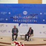 Heads of #Georgias Dip.Missions meet w/the Prime Minister of #Georgia @KvirikashviliGi #Ambassadorial2016 https://t.co/sQAbzVwM7c