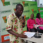 Fafage Agbodzi-Sewornu from CPP speaking at the moment #VOTEONISSUES @Y1079FM https://t.co/HR86tywbub