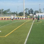 First day of summer football practice in South Carolina. Out with @MBSeahawks_FB https://t.co/eNopPSm8ou
