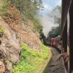 3rd voyage of steam engine 1702, up and running after 12 years #avlnews @GSMR https://t.co/wNlfuI35bt