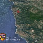 1 week time lapse of the #SoberanesFire - now larger than the city of San Francisco at 31,386 acres. https://t.co/P9p7bLMel9