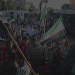 شاهد | مظاهرة في مدينة اعزاز بريف حلب الشمالي ضمن فعاليات #الغضب_لحلب. *الفيديو يحتوي على لقطات جوية. https://t.co/M1tVCiRTbq