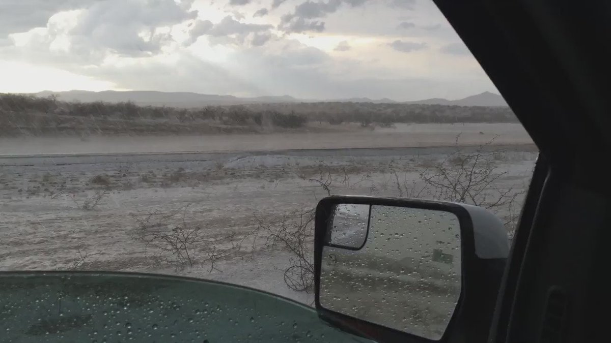 Heavy rain and hail on I-17 10 miles south of Camp Verde https://t.co/QjuQlQPiLH