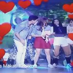 Love.. love..🎵🎶 @aldenrichards02 @mainedcm  what a beautiful couple 💑 Dance together w/ LOVE 💖🌹 #EBisLove https://t.co/A9I50xJUDH