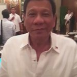 President Rodrigo Duterte greets @EatBulaga @mainedcm @aldenrichards02 @allanklownz © Eat Bulaga #EBisLove https://t.co/Xodb37Rojx