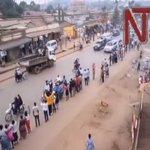 Shocking video: A @PoliceUg patrol van knocks @kizzabesigye1 supporter via @ntvuganda https://t.co/Mv3GsuZuyR https://t.co/tGsHScDNTa