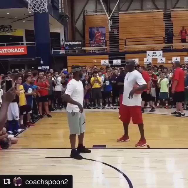 They said if Jordan missed three shots,   The whole camp would get free shoes, https://t.co/TS2SOYCFKK