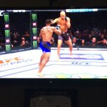 First round KO! Congrats @TWooodley #champ https://t.co/xAgUMVvxiV