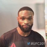 You proved it tonight @TWooodley #ANDNEW #UFC201 https://t.co/ckpkej2GlA
