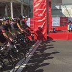 The inaugural #RideLondon-Surrey 46 starts! Good luck guys! 🚴🏻💨 https://t.co/ZUArmLZlcX