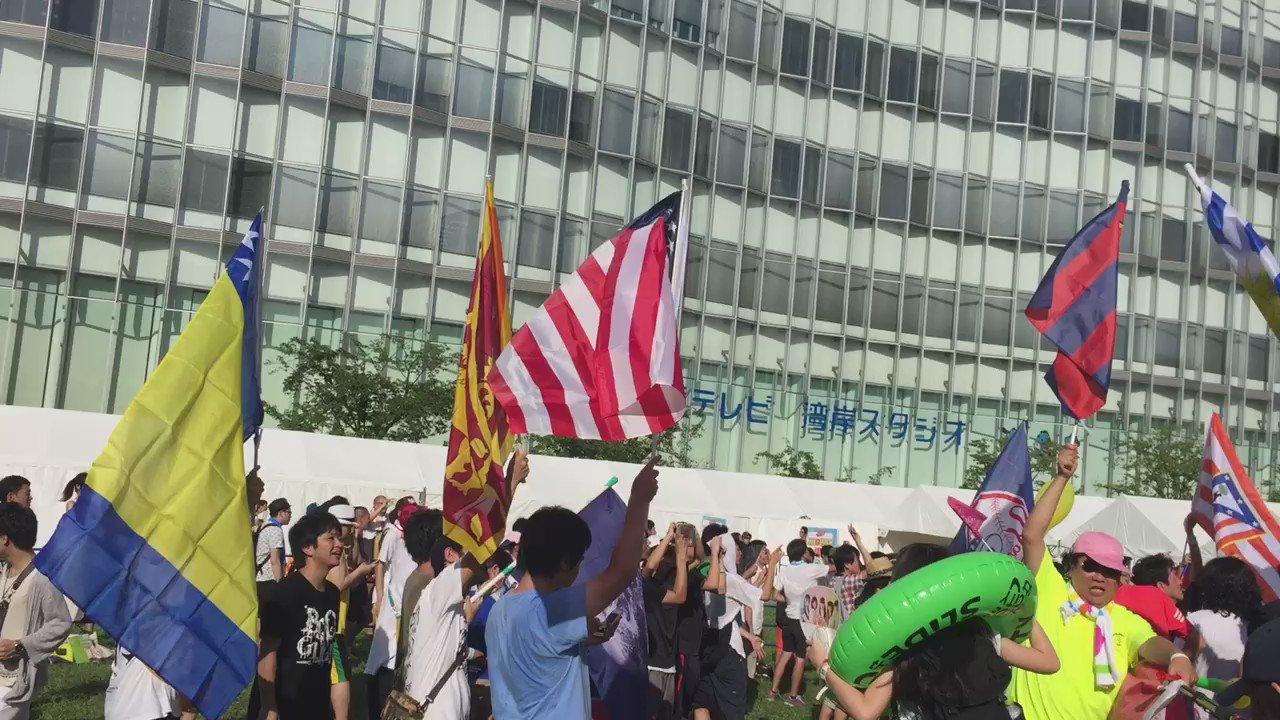 Stereo JAPANさん 楽しかったなー   #TIF2016 https://t.co/wfHIFZfkN7