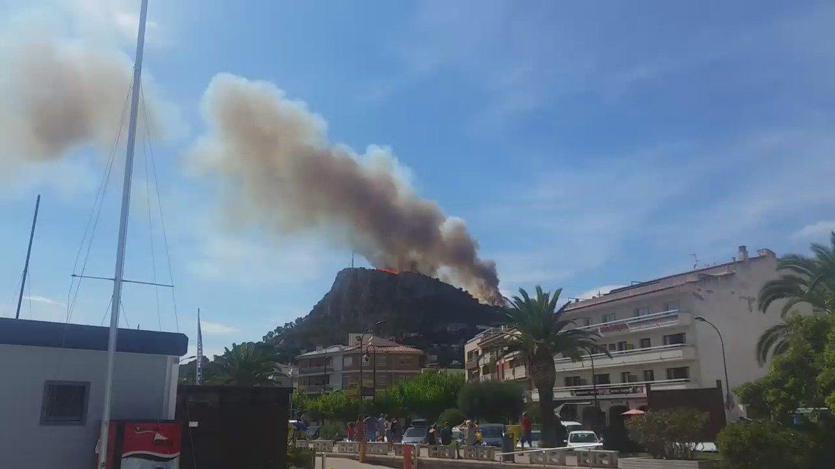 #Incendis al #Rocamaura #estartit @112  https://t.co/mkwEGTazcH #IFRocamaura via @modastylo