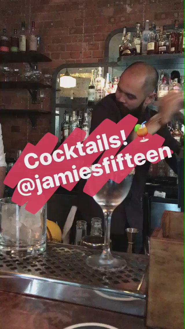 RT @symmetry_fast: Incredible cocktails tonight too @JamiesFifteen https://t.co/5WaV1kPeUi