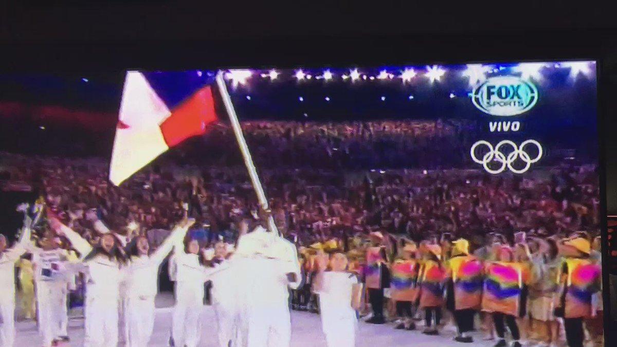 Muchas gracias @FOXSports por permitirnos ver la inauguración, saludos desde #Panama #Olimpiadas2016 https://t.co/5TRBs2GiOu