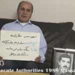 .#1988Massacre #Justice1st #Iran #FreeIran #Humanrights #No2Rouhani #Executions #prisoners #kavaran https://t.co/Knyhexua7y