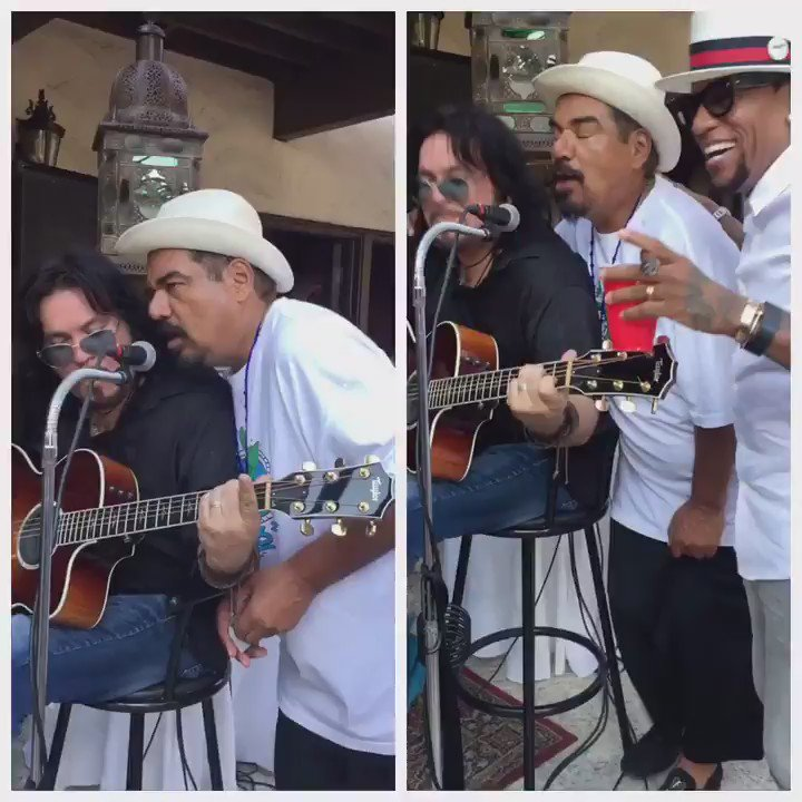 U heard it here 1st @georgelopez's new hit single featuring @realdlhughley's shoes