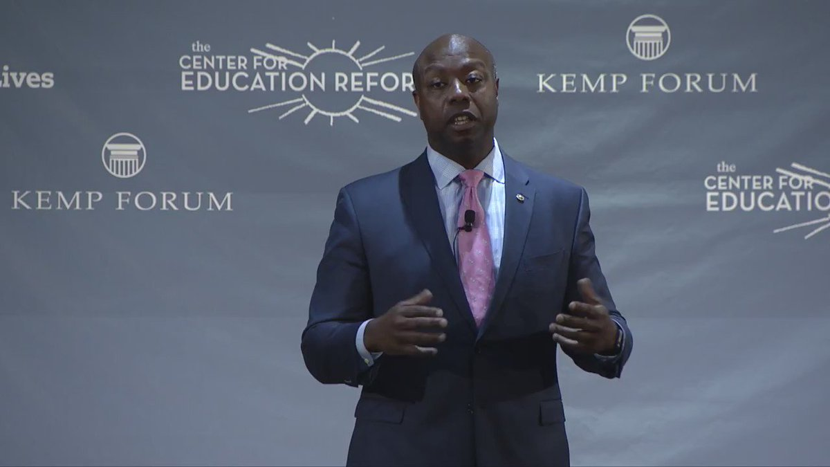Education is the closest thing we have to magic -- a path for upward mobility @SenatorTimScott https://t.co/VDvVRqX1cW