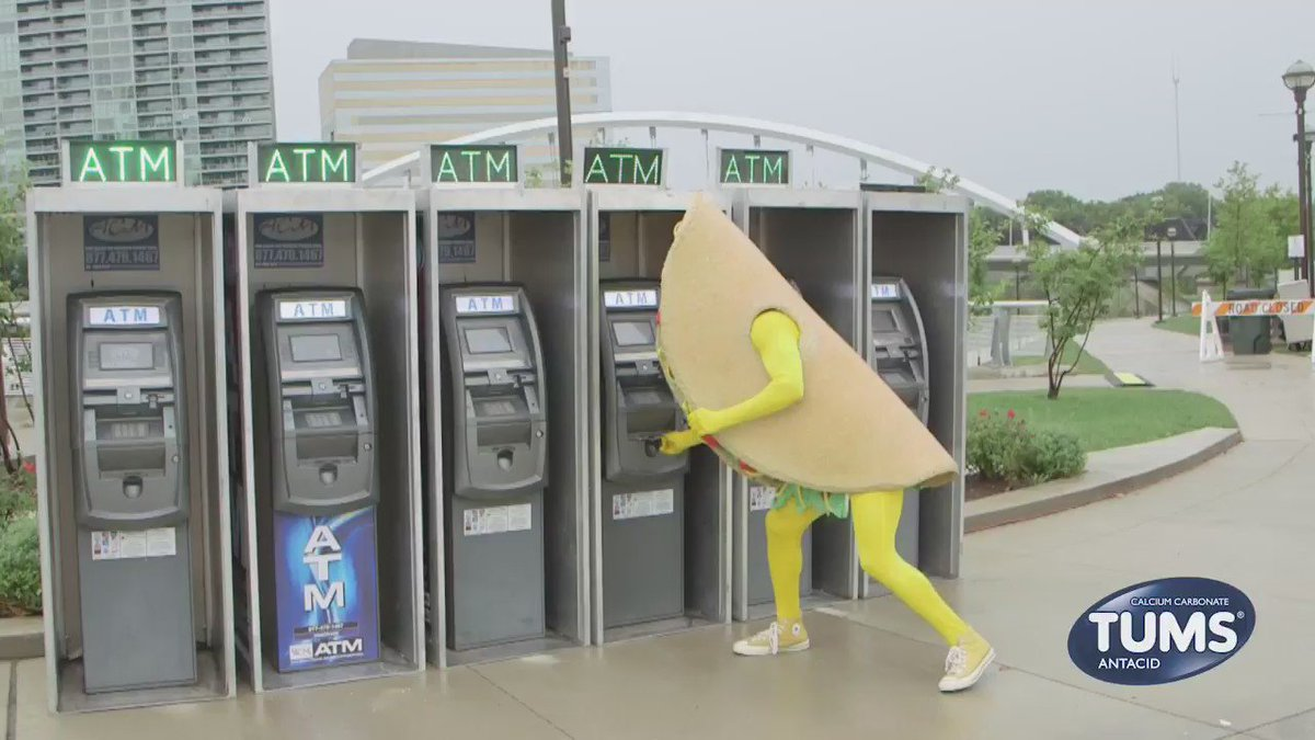 Gotta hit up the ATM (Automated Taco Machine) before a BBQ Fest. – Taco https://t.co/AcED7hSqIv