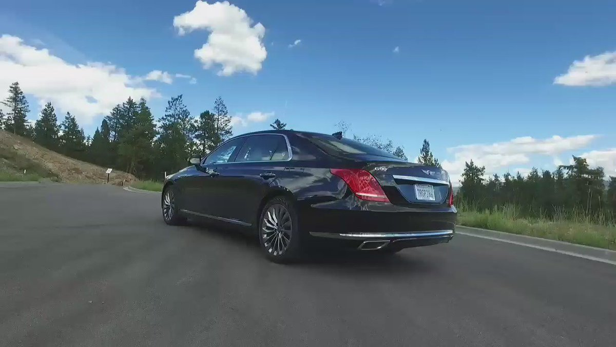 New car. New brand. New company. The @GenesisUSA G90. https://t.co/9XBQMjf2DS