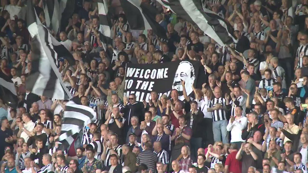 That @gallowgate flags display was pretty special today. Well done to all involved.