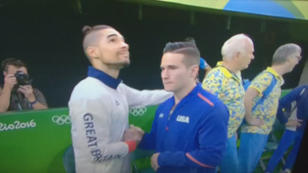 "Does Louis Smith say ""that's bullshit man"" after finding out his GB teammate has won? #Rio2016 https://t.co/18i15iZZCL"