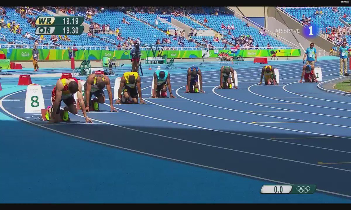Bruno Hortelano hace record de España en 200m, gana la carrera y pasa a la semifinal. ¡¡Oléee!! #ESP #Rio2016 https://t.co/82QcKUQMJH