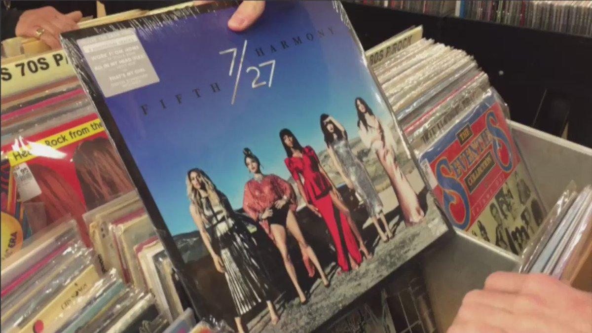 Putting @FifthHarmony's latest album where it belongs... https://t.co/MKO1cbZPD3