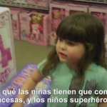 ¿Por qué las niñas tienen que comprar princesas y los niños superhéroes? https://t.co/487Dttw6Ao