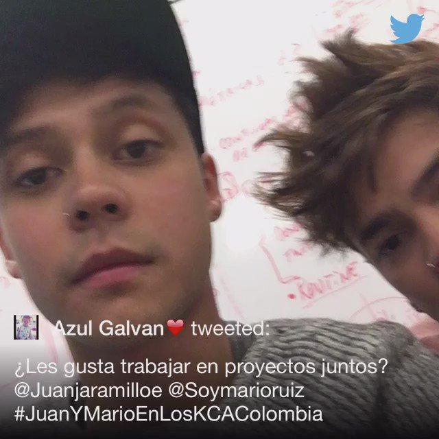 .@AzulGalvan8 #JuanYMarioEnLosKCAColombia https://t.co/G5kNoYmPKC