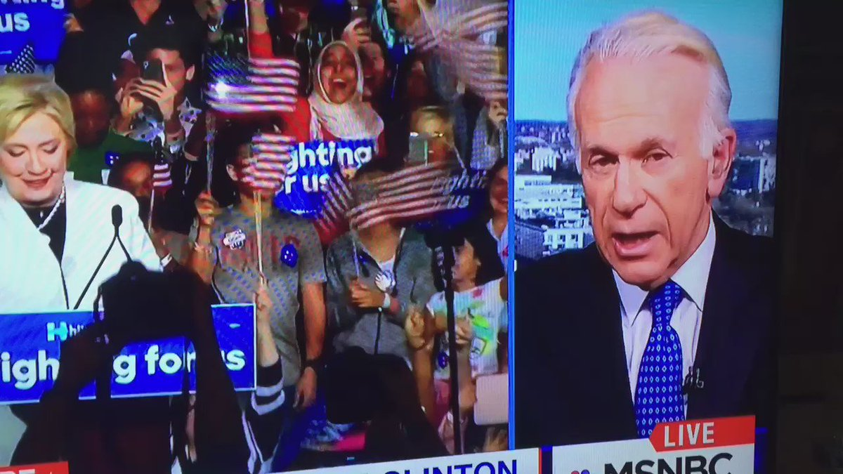 my dad, former under sec of state for public diplomacy under pres bush today on @MSNBC. mind, blown. #establishment